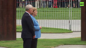 Merkel seen visibly shaking AGAIN, this time as she welcomes Finnish PM (VIDEO)