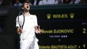 Wimbledon 2019: Djokovic battles past Bautista Agut in 4 sets to secure finals berth