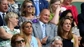 Oh Woody! Hollywood star Woody Harrelson's Wimbledon antics capture fans' imaginations online