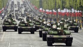 Bastille Day parade shows military tech in air and on ground, though marred by protests (FULL VIDEO)