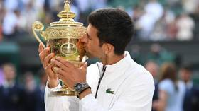 Wimbledon 2019: Novak Djokovic claims fifth title after beating Roger Federer in longest-ever final