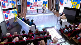 'We have nothing to quarrel about': Russians & Ukrainians speak for unity at televised conference