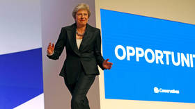 The Maybot cranks into gear one final time, before dancing off into the political sunset