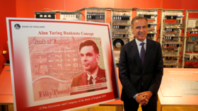 Bank of England's new 50-pound note will feature WWII code-cracker Alan Turing