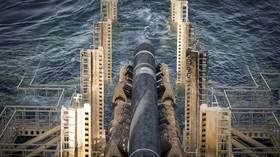 Sea section of Russia's Nord Stream 2 natural gas pipeline is 60% complete