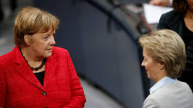 Merkel 'respects' von der Leyen's decision to resign as defense minister