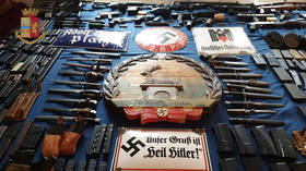 Italy seizes weapons from neo-Nazis...Western media immediately fabricates a link to Russia