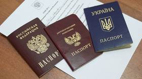 Issuing Russian passports to eastern Ukrainian residents purely humanitarian act – Lavrov