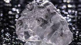 Russia unearths biggest diamond ever found in Europe