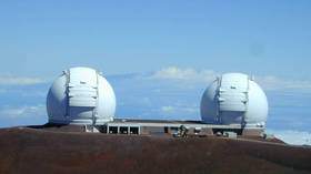 Hawaiian protesters arrested trying to block telescope on sacred lands