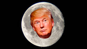 Who's telling Trump he's going to the Moon? New poll says half of Brits want him to blast off
