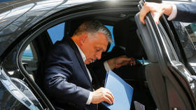 Hungary's Orban takes low-cost flight home, but some cry foul (PHOTO)