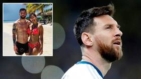 Lionel Messi chills out on $6,200 PER NIGHT private island ahead of new season (PHOTOS)