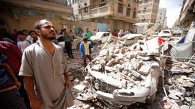 Reports of heavy explosions as Saudi-led coalition resumes assault on Yemeni capital