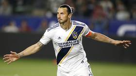 'A true Hollywood entertainer:' Zlatan Ibrahimovic hits 'perfect hat-trick' in LA derby (VIDEO)