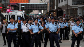 Hong Kong police seize explosives at storehouse used by pro-independence group