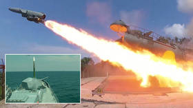 WATCH Russian frigate destroy anti-ship missile amid drills off Crimea shores
