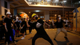 Protester attack on Beijing's Hong Kong office is hurtful to 'all Chinese people' – envoy