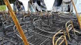 4 children killed in blaze at camp retreat in Russia (VIDEOS)