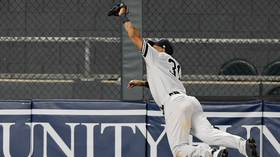 'Catch of the year': Yankees fielder Aaron Hicks pulls off INCREDIBLE one-handed catch (VIDEO)
