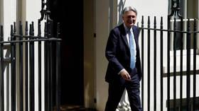 UK's finance minister Hammond resigns from govt