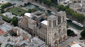 French heatwave could COLLAPSE damaged Notre Dame roof, chief architect fears