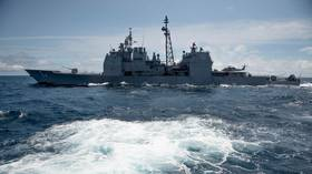 US defiantly sends warship through Taiwan Strait after China calls it a regional security threat