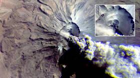 Dark omen? Russian satellite captures unsettling PHOTO of erupting Peruvian VOLCANO
