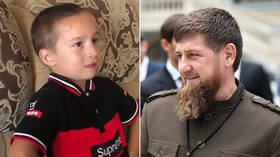 6yo boy dreams of becoming Chechen leader Kadyrov's bodyguard… and GETS HIRED