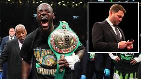 'A lot of people with agendas': Eddie Hearn slams Deontay Wilder's criticism of Dillian Whyte