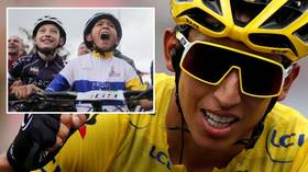 Tour de France: Locals enthralled as Colombia's Egan Bernal stands on the verge of glory