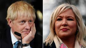 'Highly offensive': Sinn Fein slam BoJo over failure to meet Irish PM on Brexit deal