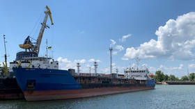 Ukraine arrests Russian tanker it stopped & searched last week