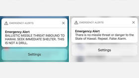 Not a drill: Hawaii missile false alarm caused surge in anxiety with lasting effects, report says