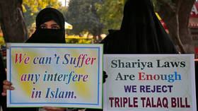 'Instant divorce' law banning 'triple talaq' practice is passed by Indian parliament
