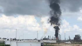 Exxon oil plant on fire in Texas (PHOTOS, VIDEO)