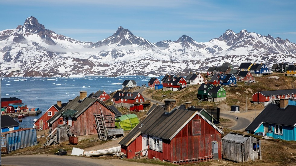 Trump vows not to build giant tower in Greenland… once he buys it?
