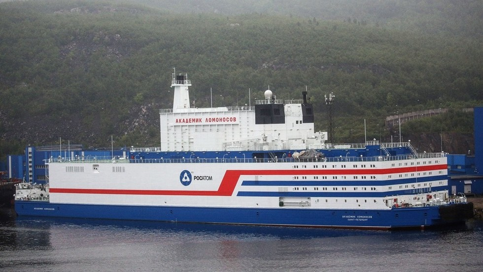 Earth's final frontier: Russia's floating nuclear power plant leaves for new Arctic home
