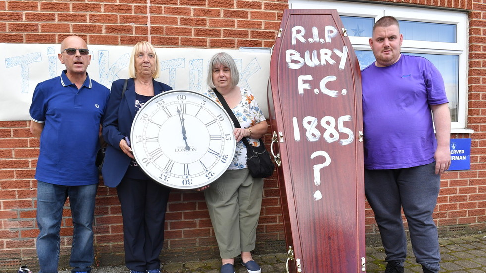 Bury FC wait on EFL extension as last-minute takeover set to save club from extinction