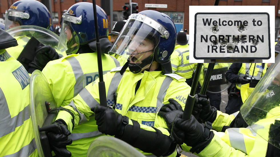 'Bloody hell': English police could patrol Northern Ireland border after no-deal Brexit