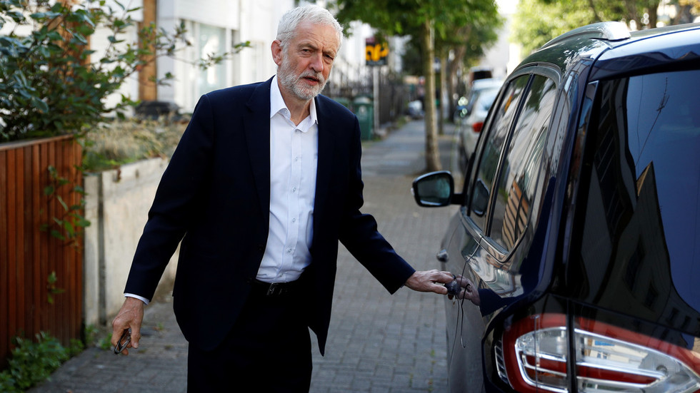 Labour Party's Corbyn Meets Senior Lawmakers To Stop No