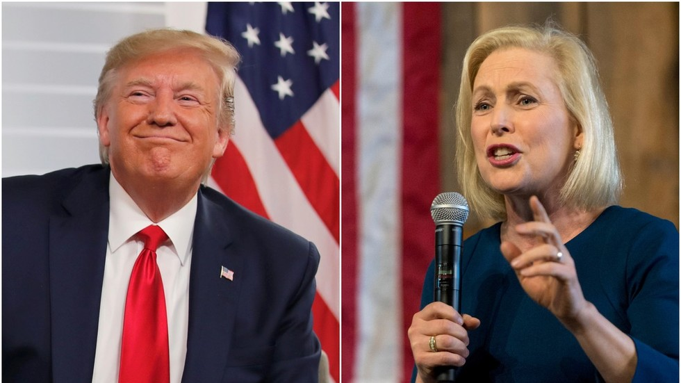 'She was the one I was really afraid of': Trump trolls Gillibrand after she drops out of 2020 race
