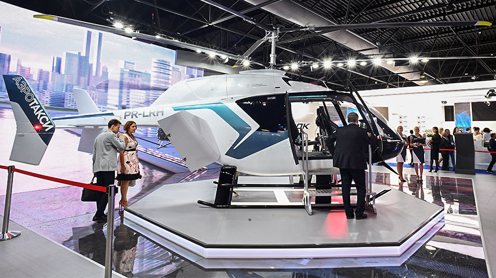 Russian Helicopters and Yandex strike deal to launch air taxi network in Moscow