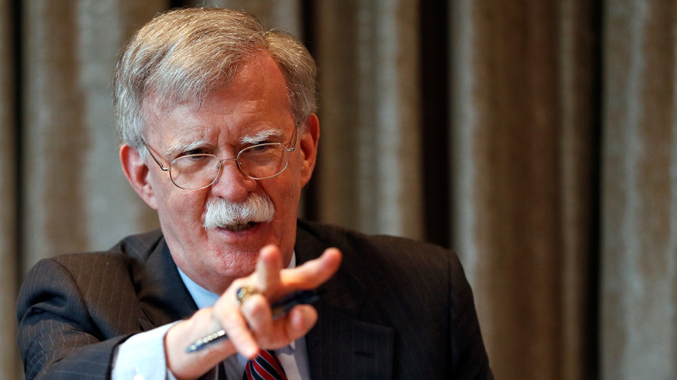 China dismisses Bolton's accusations of technology theft as 'slander'