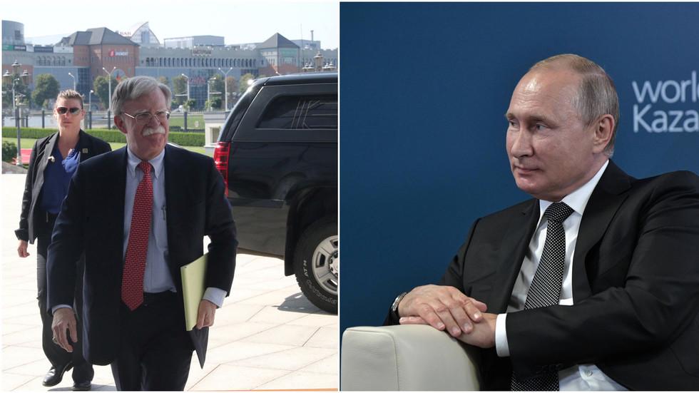 Bolton visits Ukraine, Belarus & Moldova, should Moscow be worried?