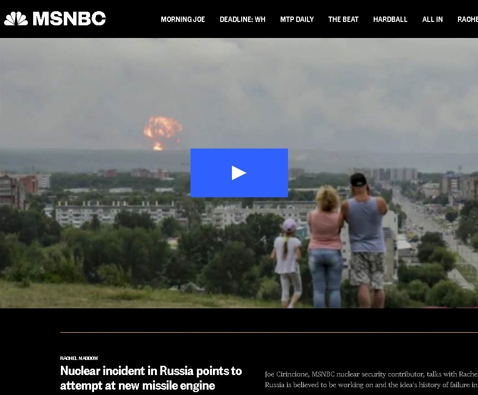 No This Russian Family Is Not Looking At A Nuclear Explosion Near Their City Dear Msm Viewers Rt World News