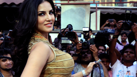 FILE PHOTO: Indian actress and former adult film actress Sunny Leone © AFP