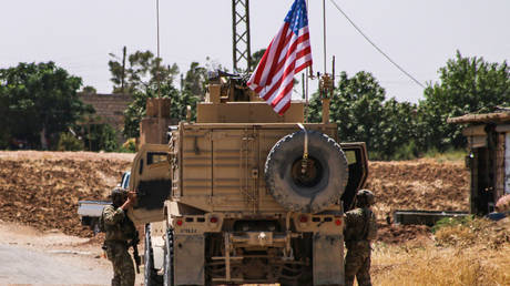 FILE PHOTO: US soldiers in Syria's Hasakeh province © AFP