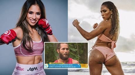 © Bellator MMA Facebook (L) | Instagram @valerieloureda (R) | YouTube  Un Nuevo Dia (C)