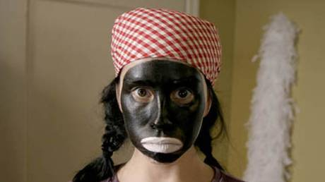 Sarah Silverman in blackface